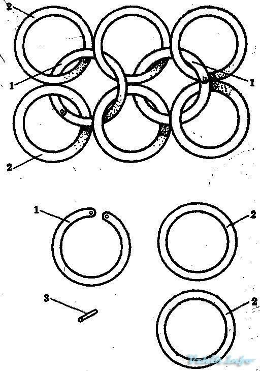 Схема плетения цепочки из проволоки своими руками 74