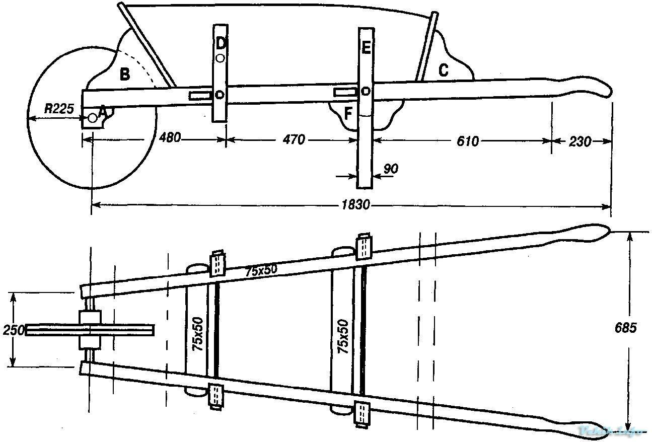 Садовые тачки тележки изготовление своими руками 15
