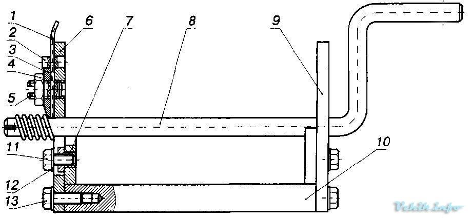 Приспособление для намотки пружин своими руками 21