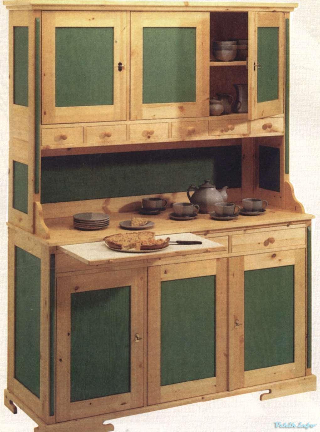 Мебель для кухни своими руками буфет