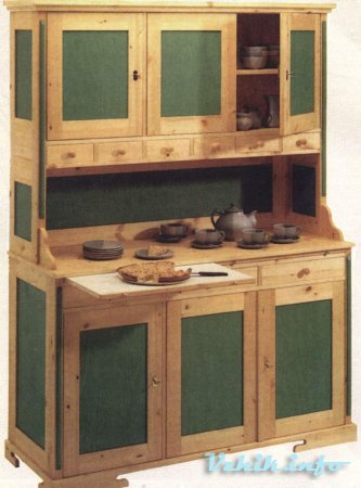 Дизайн старого шкафа
