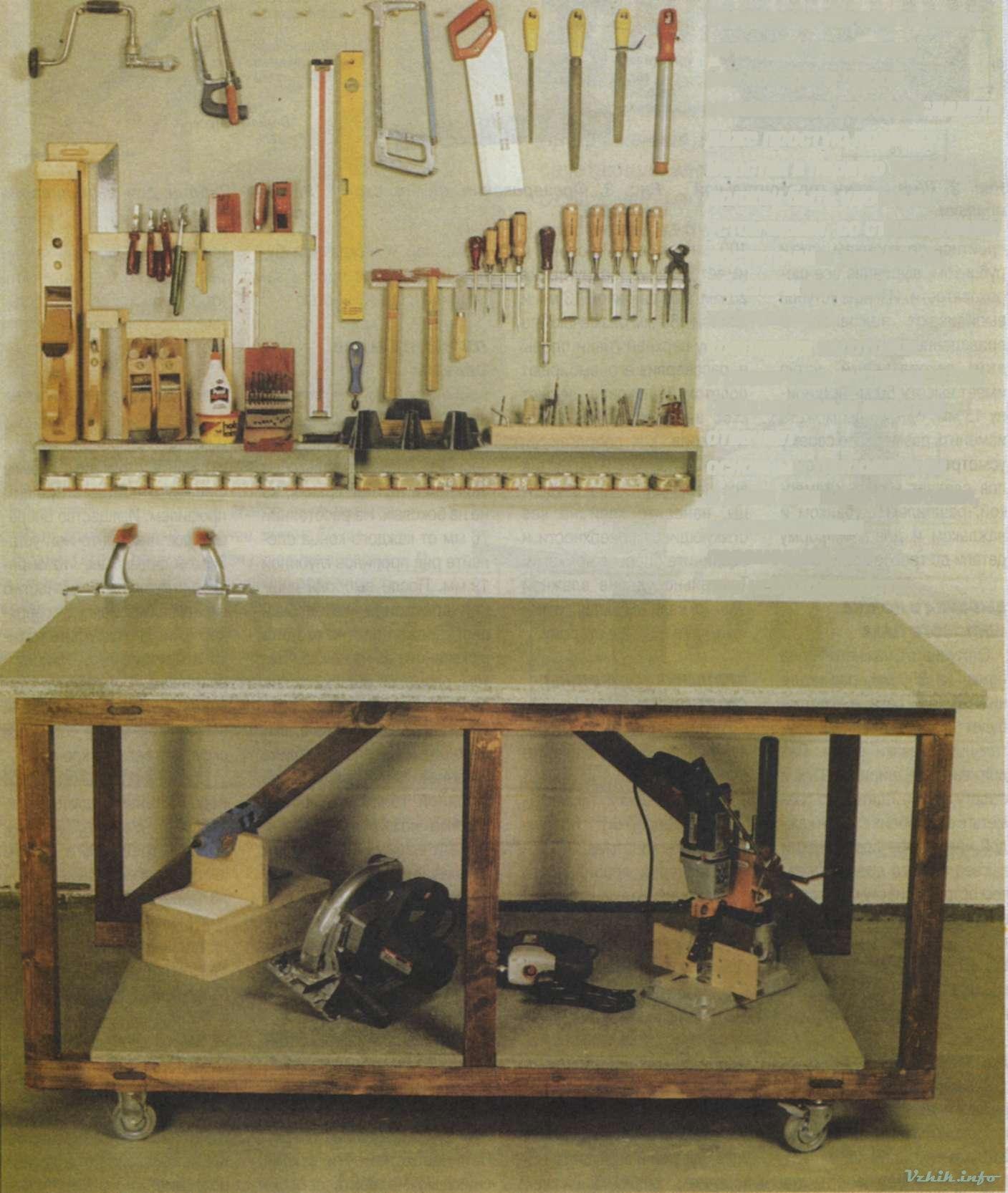 Оборудование для домашней мастерской своими руками 21